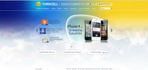 Turkcell Web Sitesi