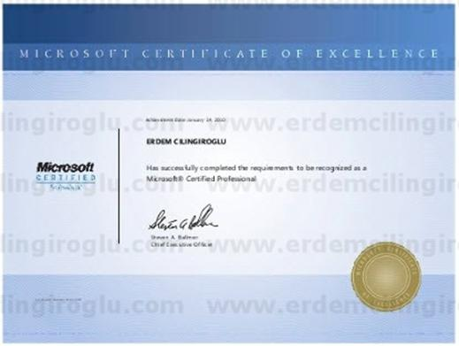 Microsoft Certified Professional (MCP)