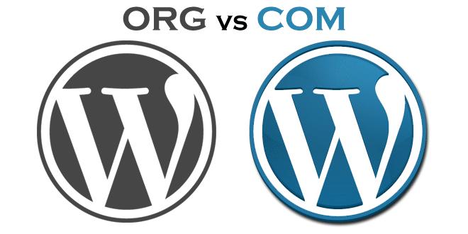 WordPress.org ile WordPress.com arasındaki farklar