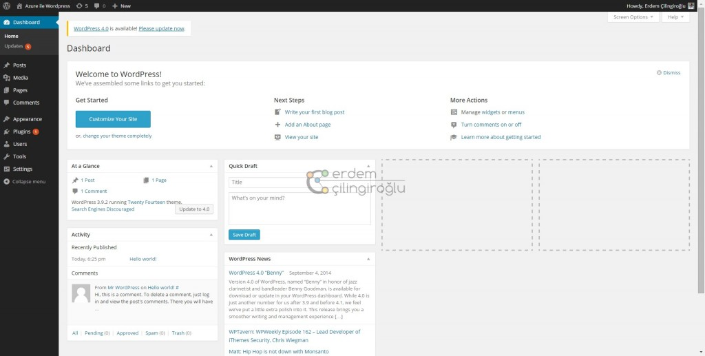 wordpress-yonetim-paneli
