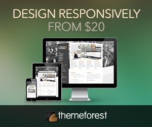 themeforest responsive site templates