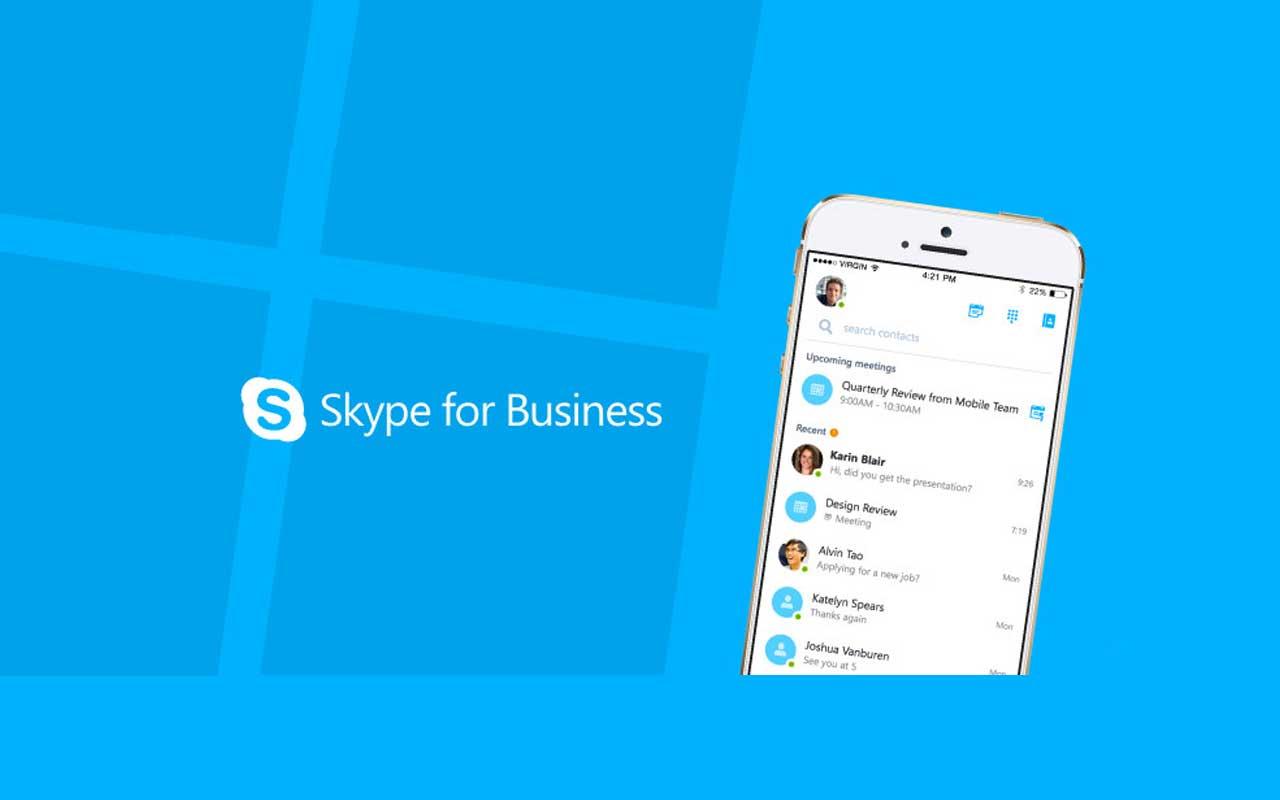Skype Kurumsal iOS Uygulaması Yayında