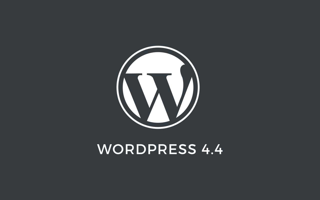 WordPress 4.4 Sürümü Yayında